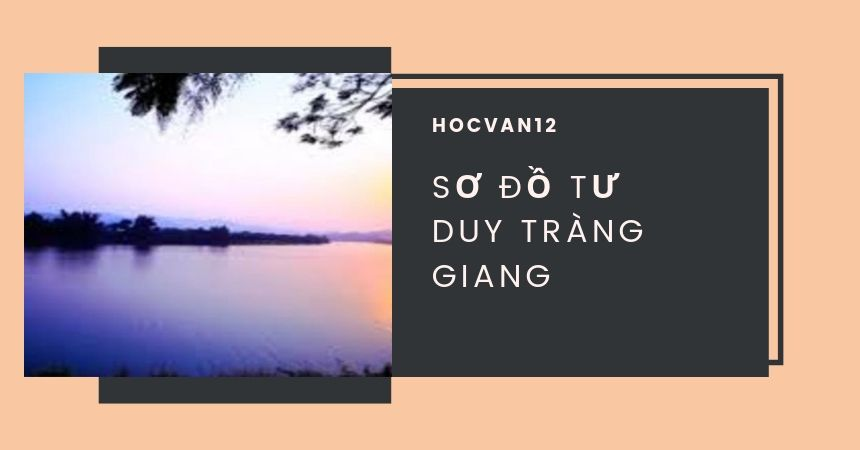 Sơ đồ tư duy Tràng Giang