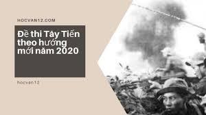 Đề thi Tây Tiến theo hướng mới năm 2020 1